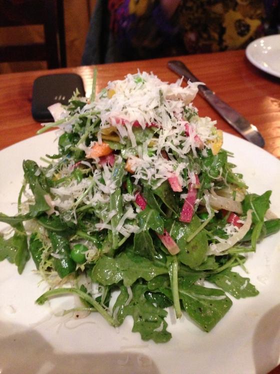 The Corner Store Spring Salad