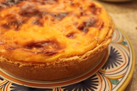 Thomas Keller's Apricot Flan Tart